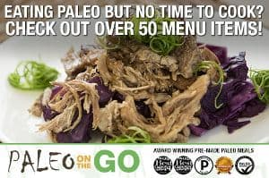 Image of the Paleo on the go website and meal offerings, a company with surprisingly great options for those looking for SCD food delivery. If you are looking to get scd meals delivered to your home or office, Paleo on the Go is a great company to look into