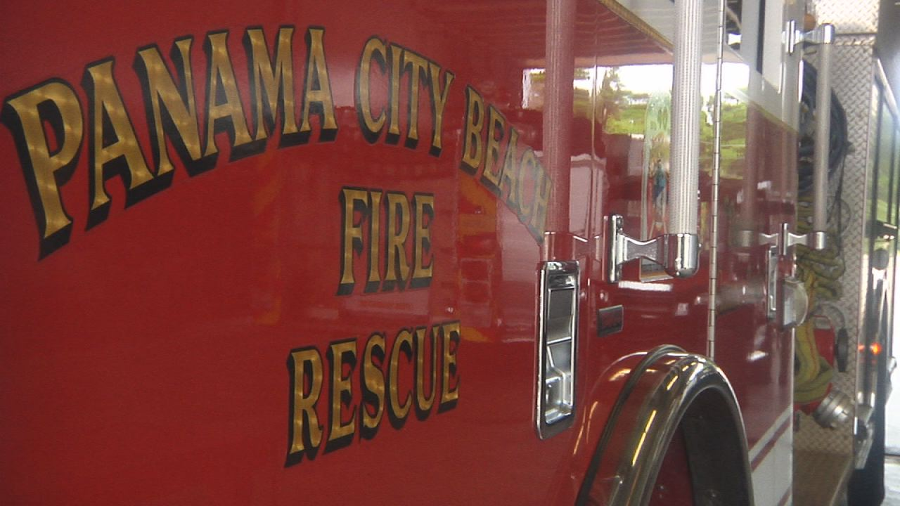 panama city beach pcb fire rescue