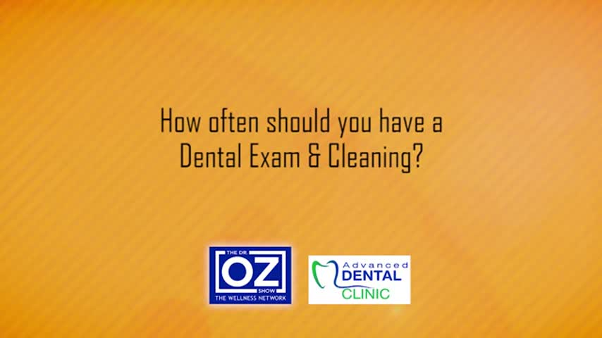 ADV Dental - How often should you have a dental exam and
