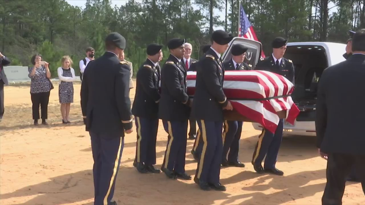 Lt. Sconiers Laid to Rest 74 Years Later