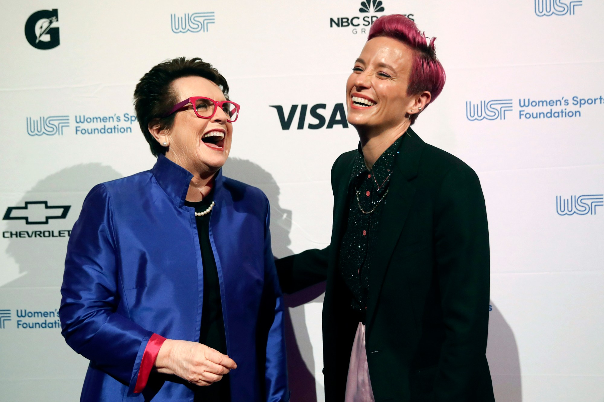 Billie Jean King, Megan Rapinoe