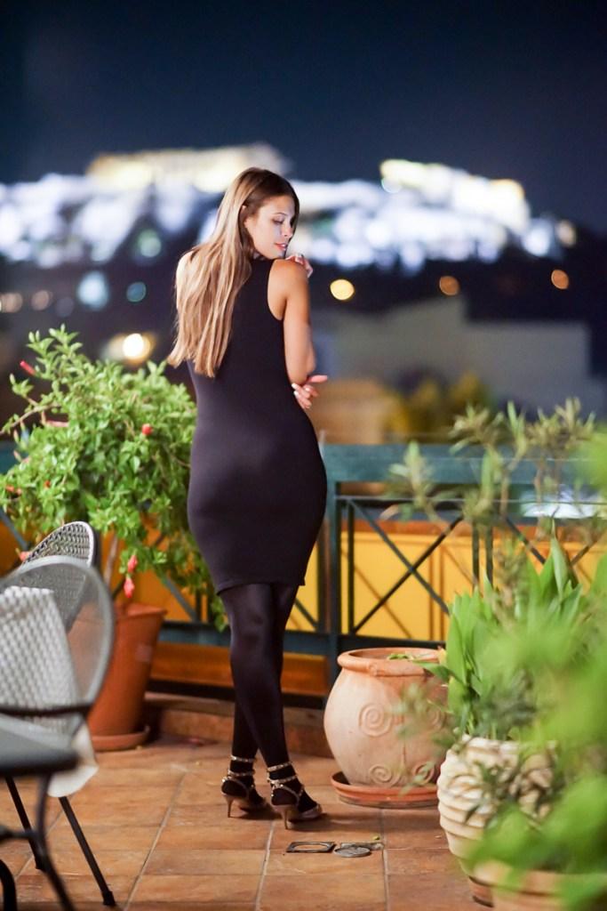 On Top Of Athens Mypantyhosegirl