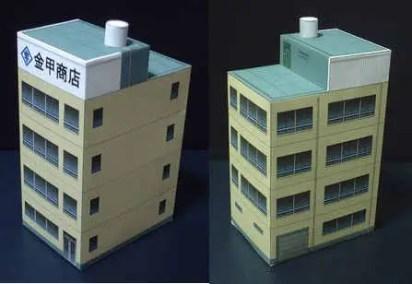 Japan Building Diorama - My Paper Craft