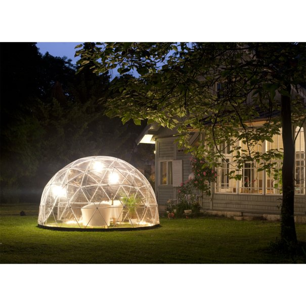 Garten Iglu als runder Pavillon
