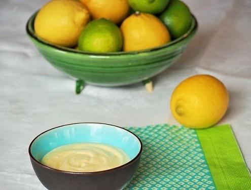Mousse au citron à base de lemon curd