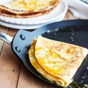 recette traditionnelle des crêpes Suzette au beurre d'orange