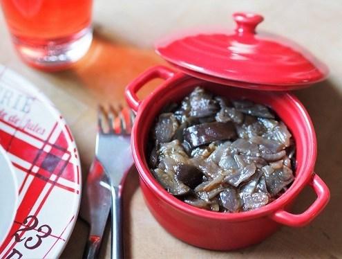 poêlée d'aubergines aux saveurs provençales