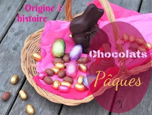 Origine et histoire des chocolats de Pâques