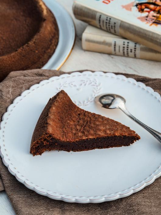 Gluten free chocolate cake French family recipe