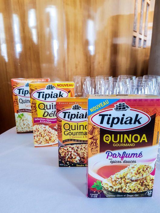 Gammme des quinoas Tipiak