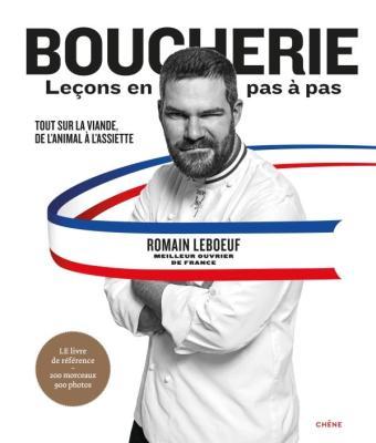 Livre Boucherie de Romain Lebœuf aux éditions du Chêne