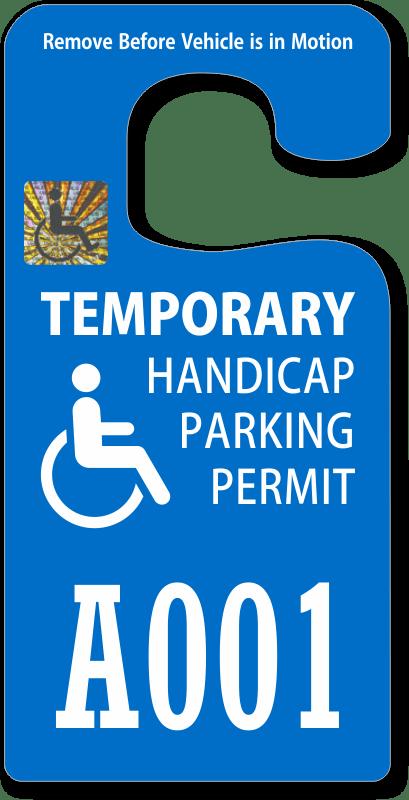 How Get Handicap Tag