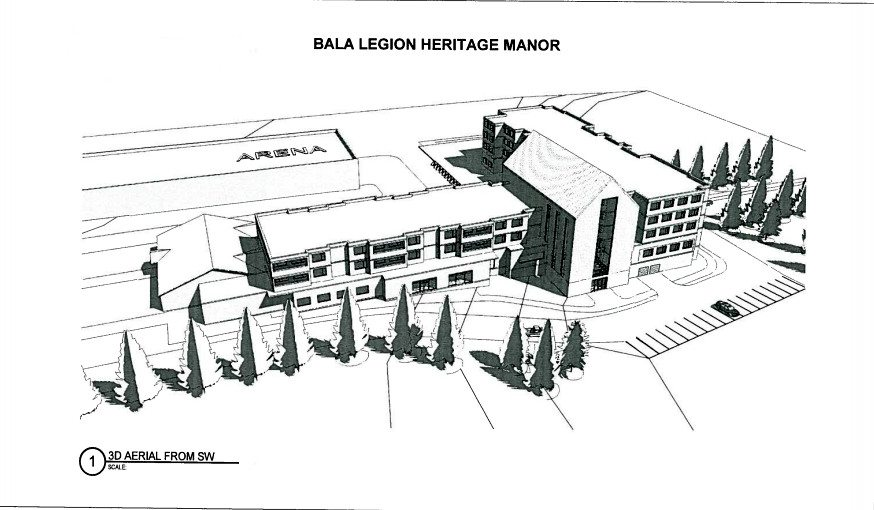 Bala Legion moves into planning phase for unique senior
