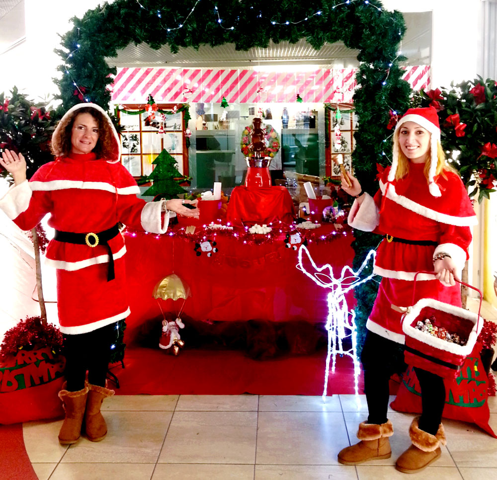 Laboratori di Natale per bambini nei centri commerciali