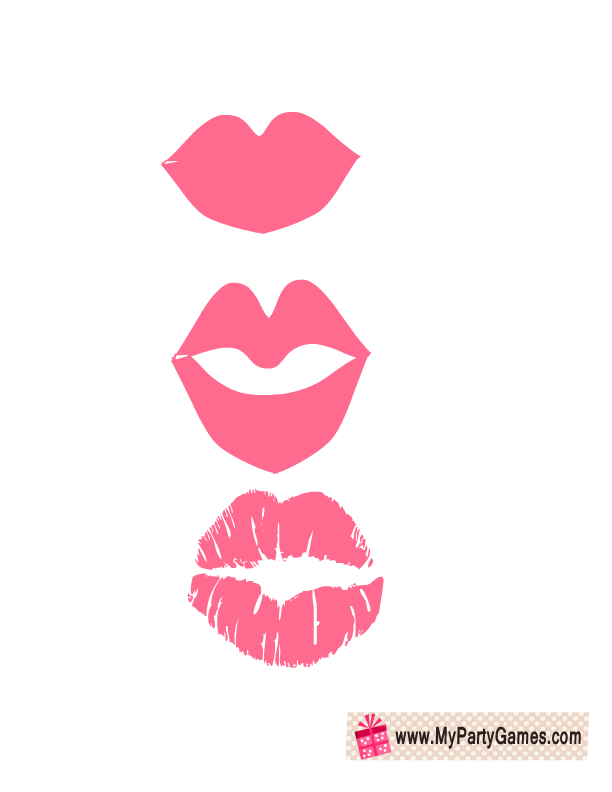 graphic regarding Free Printable Bridal Shower Photo Booth Props named Totally free Printable Lips For Picture Booth