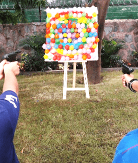 Balloon Shooting Game on rent in Bangalore