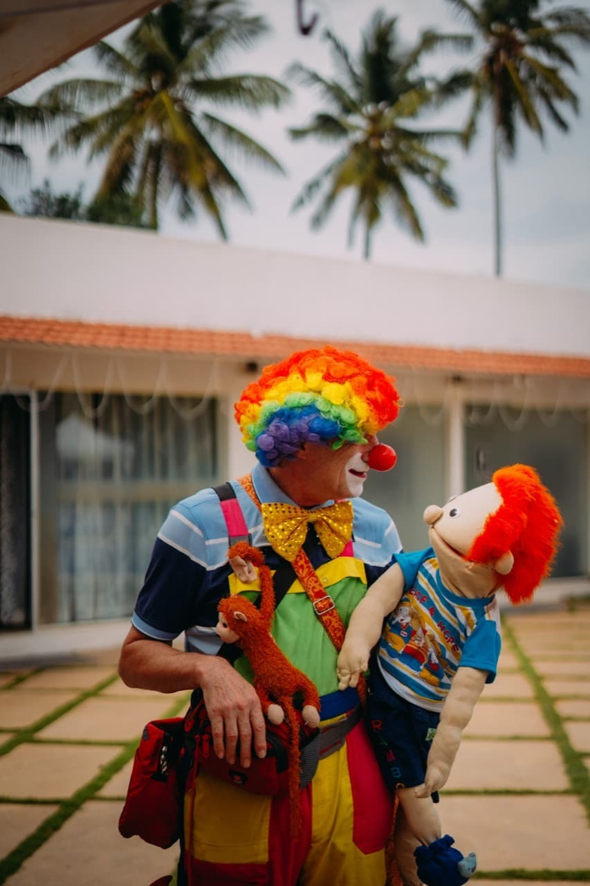 Book a ventriloquist for birthday party