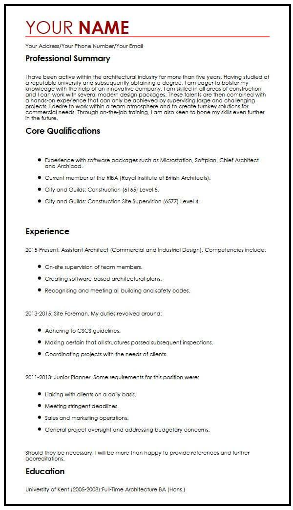 Modern CV Example  MyperfectCV