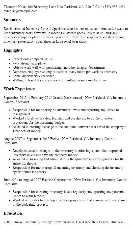 video production resume examples