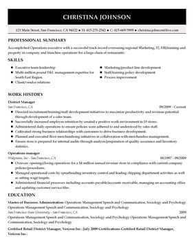 The Perfect Resume Example My Perfect Resume