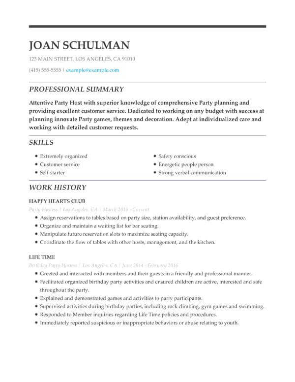education section resume examples