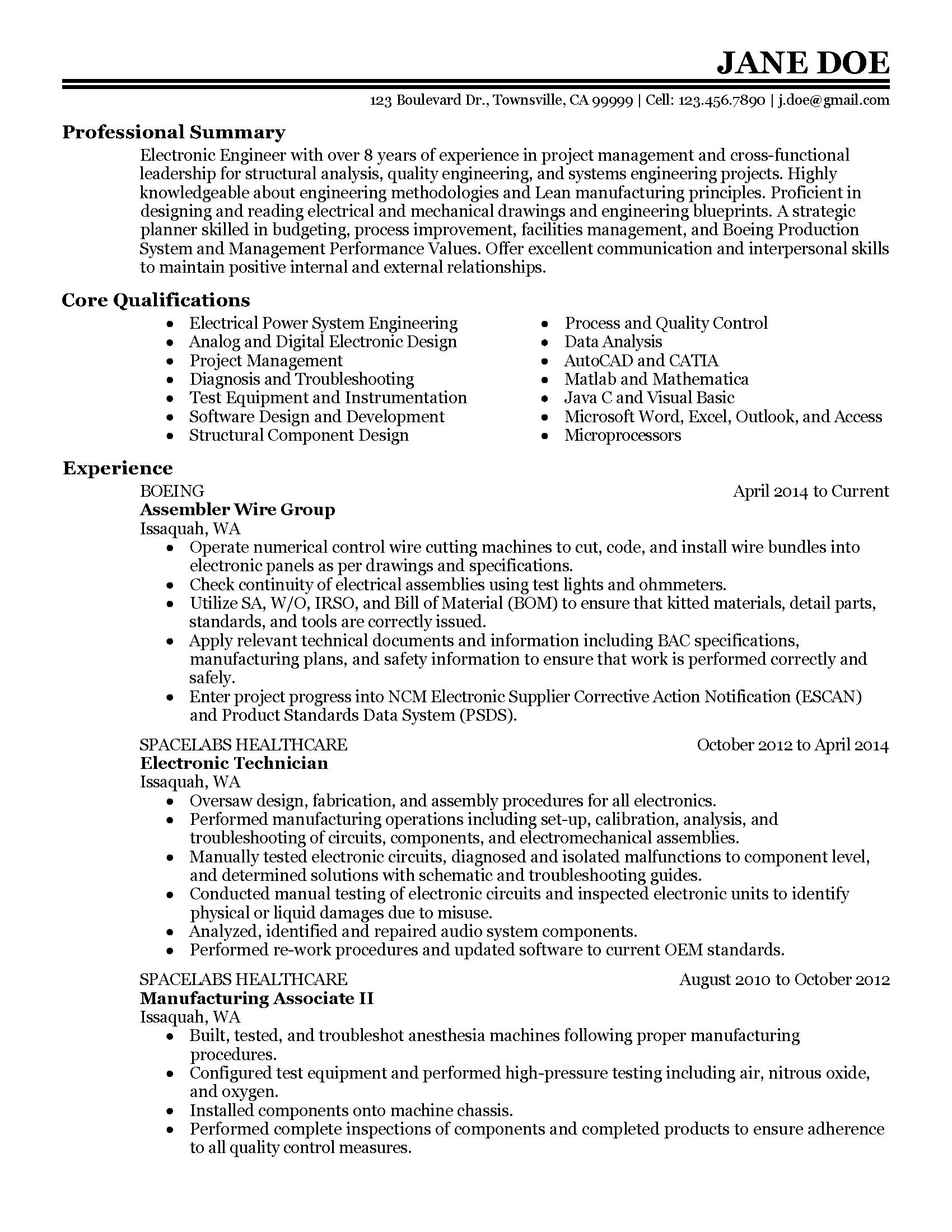 developmental engineer resume - April.onthemarch.co