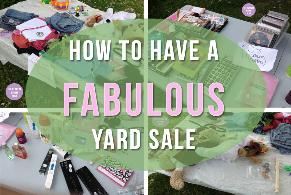 How to Have a Fabulous Yard Sale!