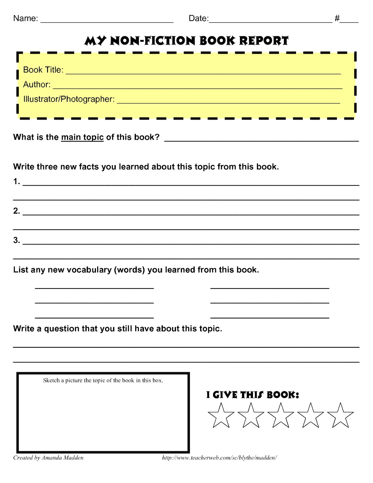 hight resolution of How to Write a Book Report - Step by Step Guide
