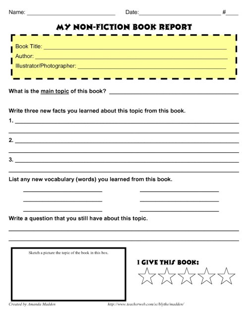 small resolution of How to Write a Book Report - Step by Step Guide