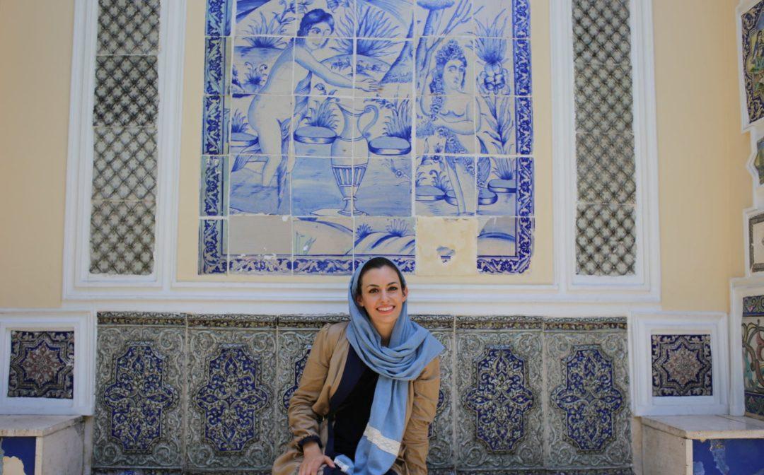 Pontia Fallahi at Moghadam Museum Tehran