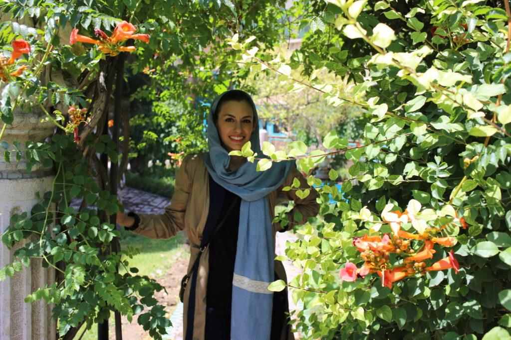 My Persian Corner at Moghadam Museum Tehran