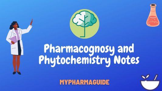Helpful Pharmacognosy Notes PDF Download Free-2020