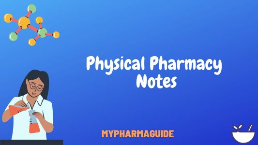Helpful Physical Pharmacy Notes Free Download-2020