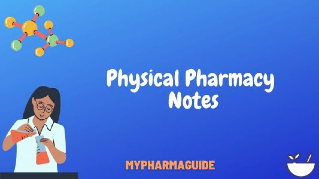 Physical Pharmacy Notes Download