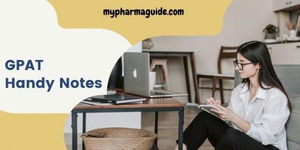 Download GPAT Handy Notes Free banner