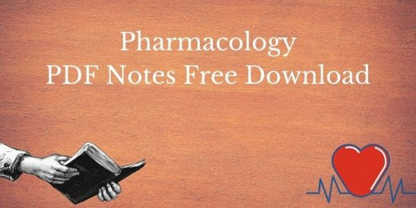 Pharmacology PDF Notes For Pharmacy Students Download - 2020