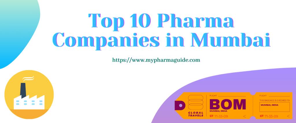 Top 10 Pharma Companies in Mumbai