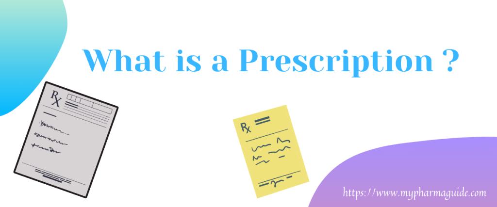What is a Prescription in Hindi? Prescription क्या है?