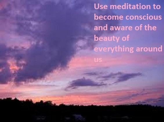 nature and meditation benefits