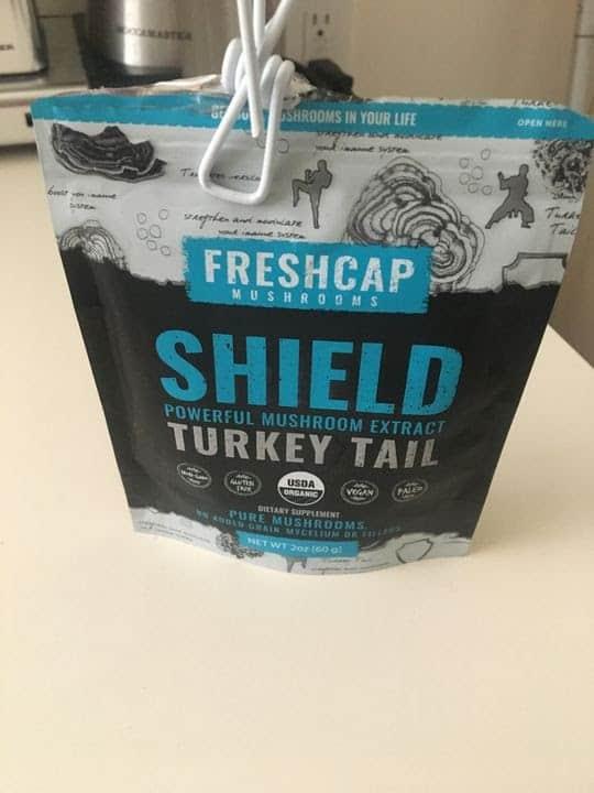 FreshCap Organic Turkey Tail Mushroom Extract Powder