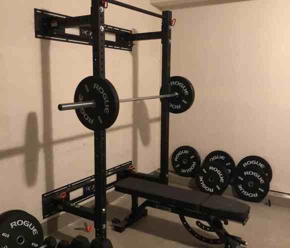 Small Home Gym Setup
