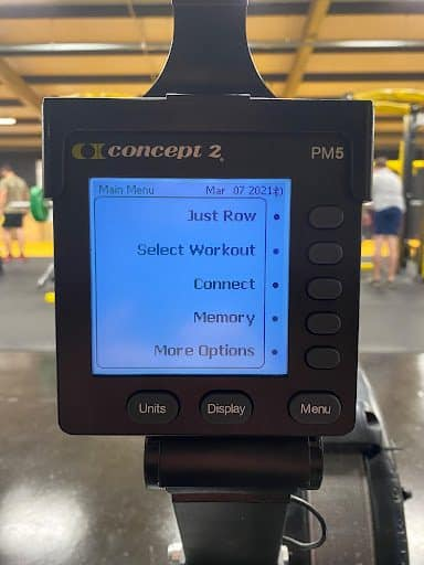 Concept 2 PM5 computer