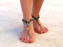 Barefoot Toes Feet Sandals
