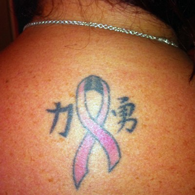Pink Ink: On the Nape of Her Neck
