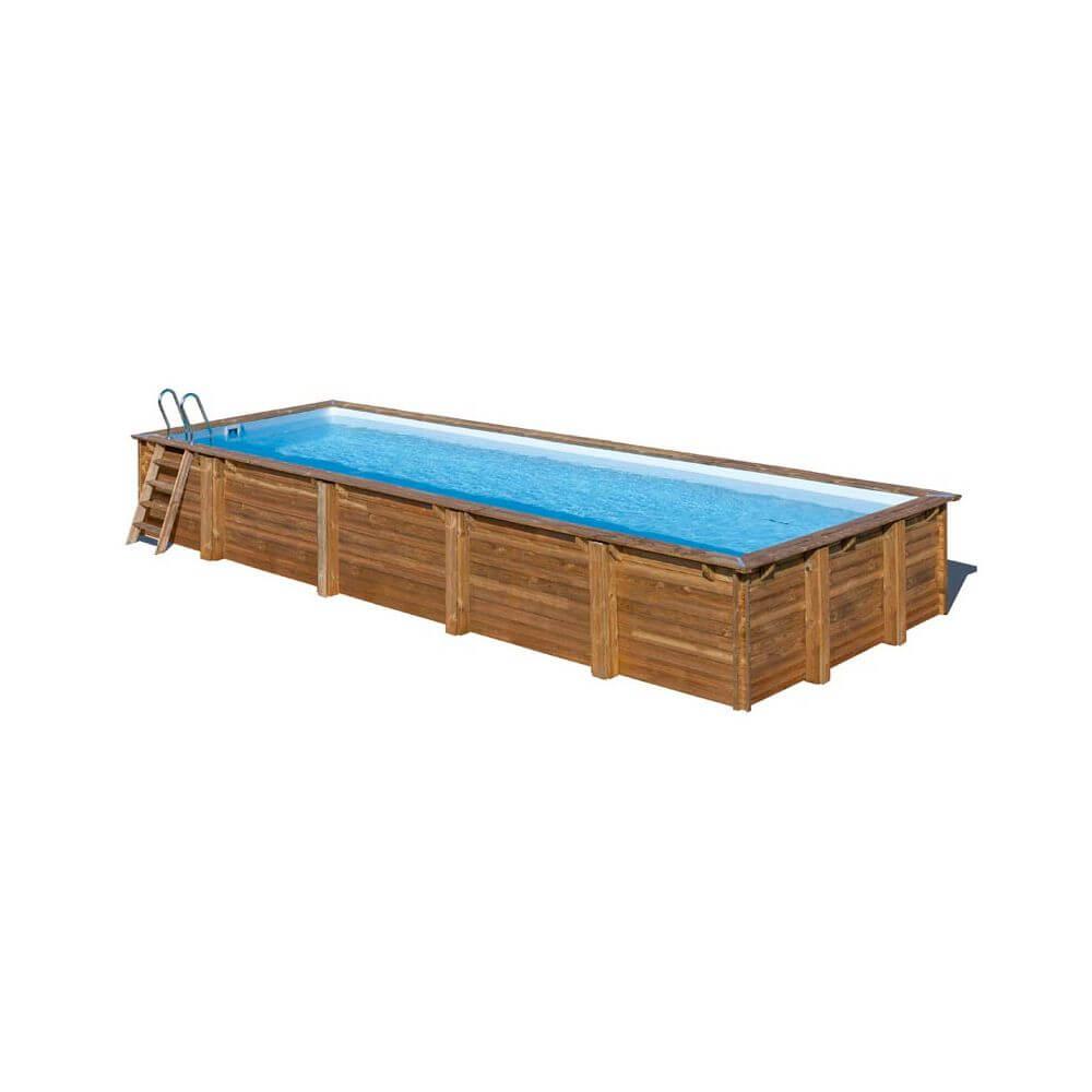 piscine bois mint 1000 x 400 x h 146 cm