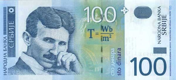 Image result for tesla dinar