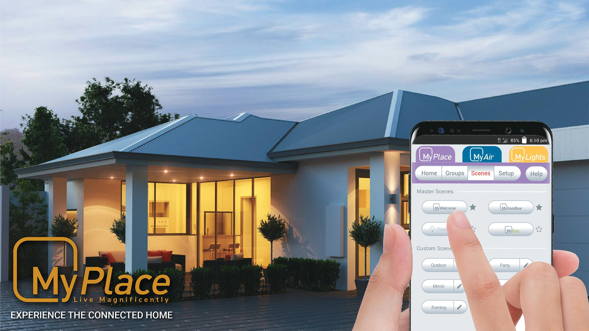 Smart Home and Home automation products