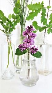 blomstervaser, flasker