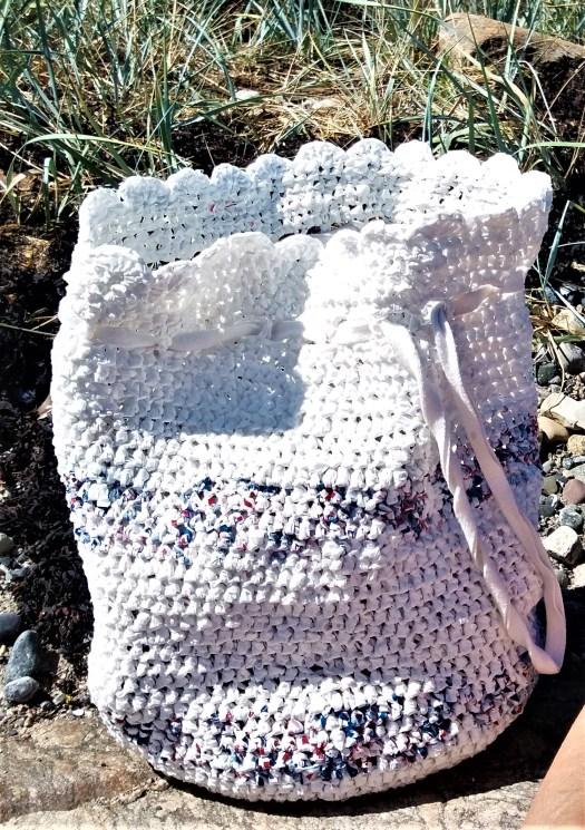 strandbag av bæreposer