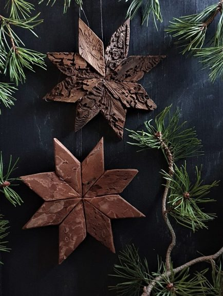 stjerner av bark
